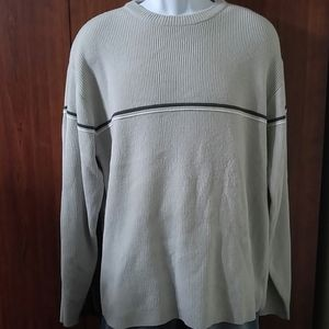 Sonoma men's crew neck pullover sweater size large